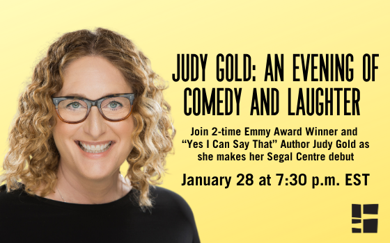 Judy Gold live comedy at the Segal Centre
