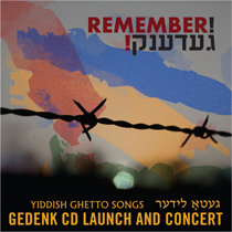 GEDENK CD LAUNCH AND CONCERT
